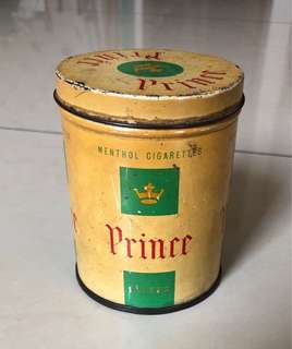 Rare Collectible Vintage Cigarette canister