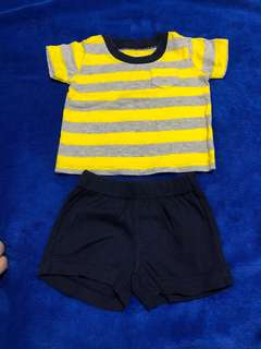Carter Shirt and Short Pants set (3months)