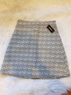 Brand New Express tweed skirt