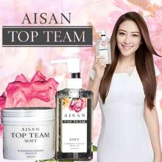 [Instocks] Aisan Top Team Hair Product