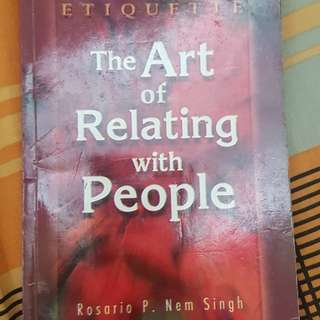 The Art of Relating People