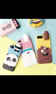 We bare bears phone case
