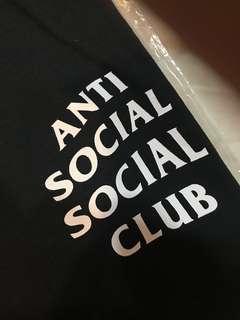 anti social social club Assc基本款短踢目前剩黑L*1