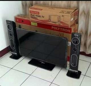 Tv led polytron 32 inch