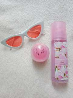 Reprice!! Perfume with pink blush