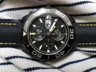 Tag Heuer Aquaracer Chronograph CAY218A titanium /ceramic brand new