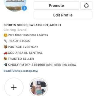 Follow my igshop ! @beadifulshop