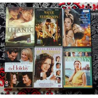 Assorted DVD Movies: Drama / Chick Flicks