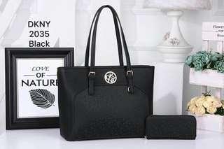 DKNY Tote Bag Black