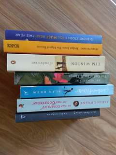 Fiction $3 or bulk lot of 6 for $12