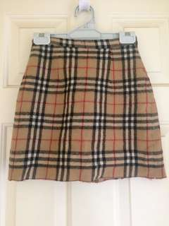 Authentic Burberry Skirt