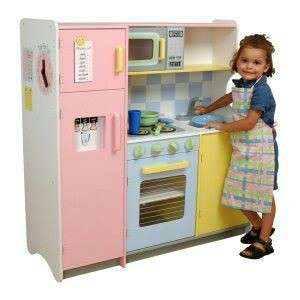 Kidkraft wooden play kitchen
