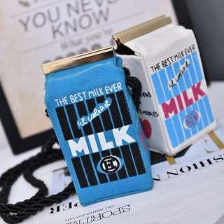 Milk Box Shoulder Bag Cute