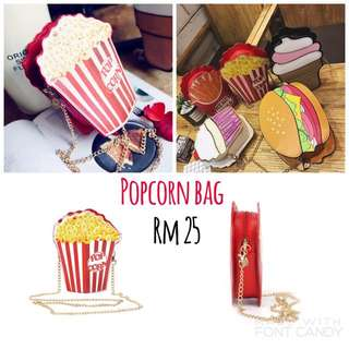 Popcorn Shoulder Bag Cute