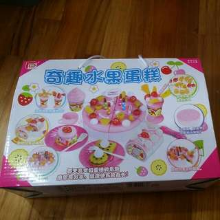 Fruits And Cake Toy Set
