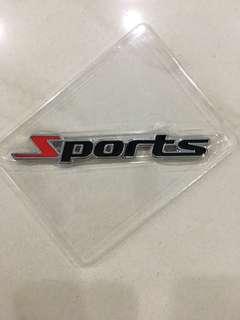 Sports logo emblem badge