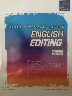 Upper Sec English Editing (SAP education)