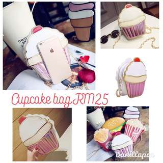Cupcake Shoulder Raya Bag Cute