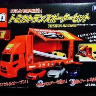 Tomica Racing Motorsport Support Team 大貨車 收納套裝 車仔 玩具 景品 全新正版有盒