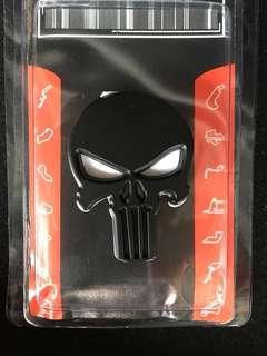 Skull Emblem Badge