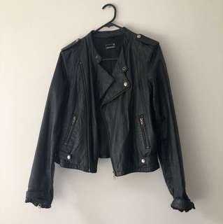 Jeans West Leather jacket