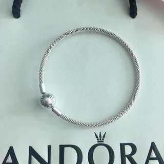 Pandora Silver Mesh Bangle 19cm