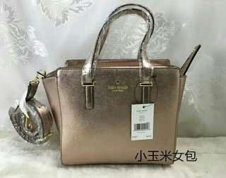 *FREE DELIVERY to WM only / Pre order 18-21 days*  Ladies 25*22*10cm medium size Kate Spade inspired handbag each as shown design/color. (buyer review: althought it's inspired but looked like original) Free delivery is applied for this item.
