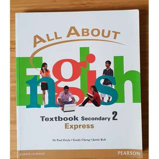 All About English: Secondary 2 Normal (Academic) Textbook