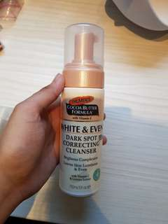 Palmer's white and even dark spot correcting cleanser