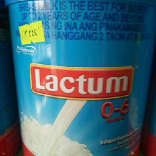 super sale today only..lactum 0-6(900 g/can)