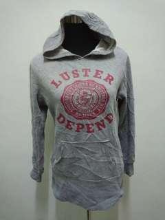 COOKIE HOUSE Grey Hoodie Sweater Jacket