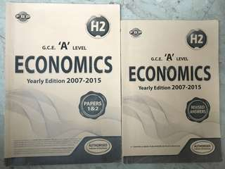 H2 Economics 2007-2015 GCE A level papers + answers