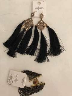 Lovisa Earrings and Bracelet