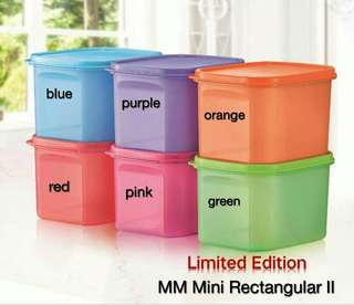 Tupperware Brands MM Mini Rectangular 11 1.9L