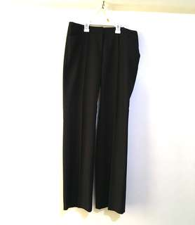 Charity Sale! Authentic G2000 Women's Black Straight Leg Dress Office Work Pants Size 9