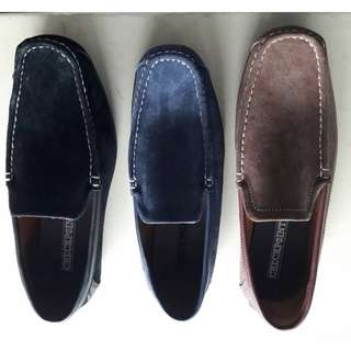 CheckPoint Mens Loafers - Genuine Leather with Rubber Sole