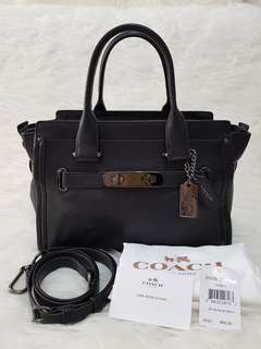 Coach Swagger All Black 27