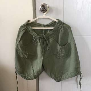 Shorts (Olive Green)