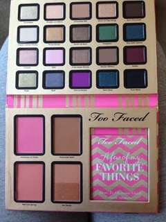 Preloved Too Faced - Few of My Favorite Things