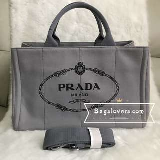 BN prada large canapa grey