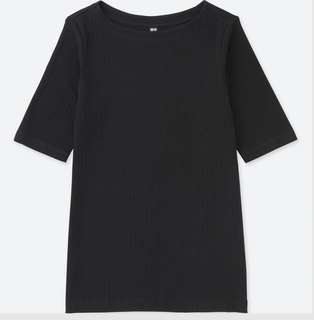 NEW Uniqlo Ribbed T-Shirt