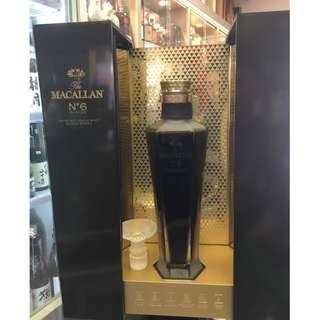 The Macallan No. 6 Highland Single Malt Scotch Whisky in Lalique