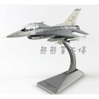 <預購--4/30到貨> 美國空軍F-16C 毒蛇Viper F16戰隼戰鬥機 1/100 合金飛機模型