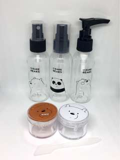 We Bare Bears Travel Kit