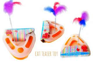 Cat Triangle Teaser Toy