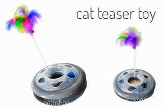 Cat Round Teaser Toy