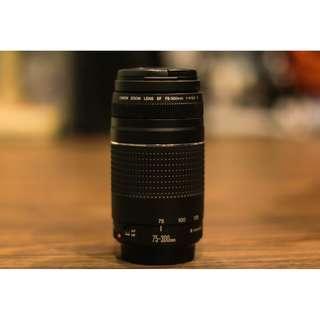 Canon 75-300mm Telephoto lens