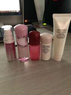 Shiseido white lucent face pack