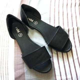 Rubi Black Slip-on Flats
