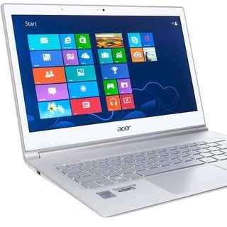 Acer Aspire S7-391 UltraBook i5-3337/4G Ram/128G   手提電腦